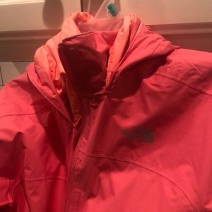 The North Fave rain jacket. Excellent condition